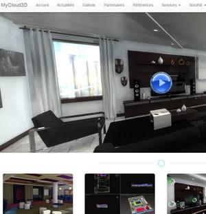 mycloud 3d permet de créer des visites virtuelles en 3d.