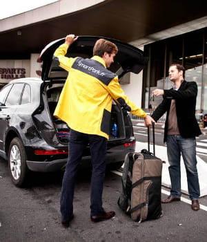smart park propose une alternative aux taxis et aux parkings classiques pour