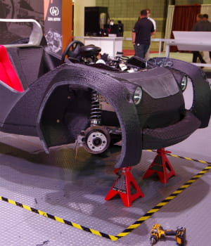 spécialiste du prototypage automobile, local motors a démontré que l'on pouvait