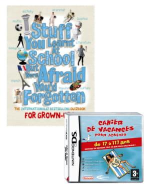 le cahier de vacances de chiflet&cie a été adapté en jeu vidéo et vendu en