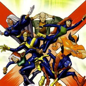 les superhéros dans le dessin animés x-men evolution.