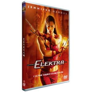la pochette du dvd du film elektra.