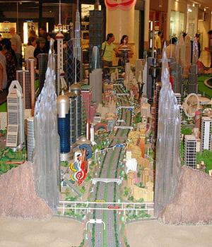 le complexe de loisirs bawadi, prévu dans le désert de dubai, est remis en cause