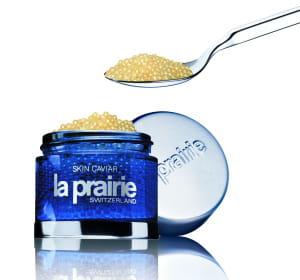 le dermo caviar de la prairie coûte 158euros. en vente dans les parfumeries et