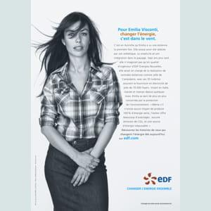 emilia visconti, partisane de l'énergie éolienne.