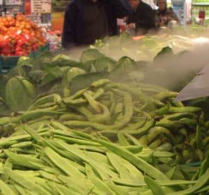 la brumisation des légumes permet d'allonger leur durer de vie et de conserver