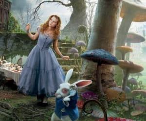 'alice au pays des merveilles', réalisé par tim burton, sortira en salles le 7
