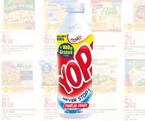 la bouteille de yop va prendre 100 g sans augmentation de prix.