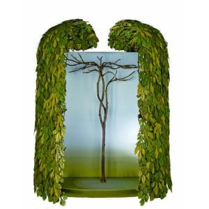 l'armoire à feuilles de figuier, du designer tord boontje, évoquait 'l'esprit