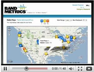 capture d'une vidéo de présentation de brandmetrics