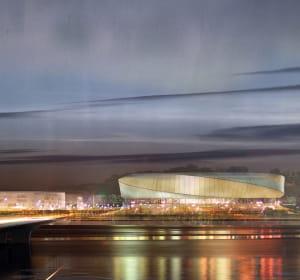 le 'grand arena' à floirac comprendra 84 boutiques sur 29500m².