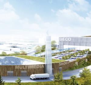 le centre commercial greencenter à seclin comprendra 25000m².