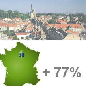 montévrain est la 9e ville de france qui connaît la plus forte augmentation de