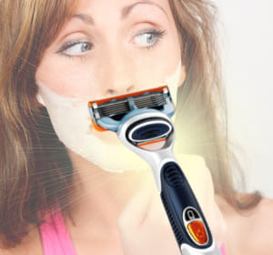 20% des rasoirs hommes sont utilisés par des femmes.