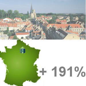 la ville qui a gagné le plus d'habitants entre 1999 et 2010 est magny-le-hongre.