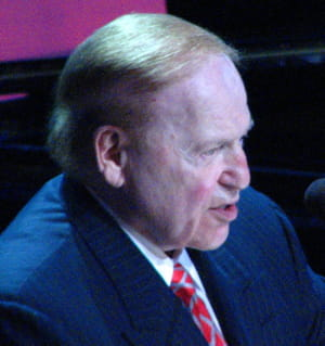 sheldon adelson. 