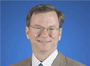 eric schmidt,pdg de google depuis 2001