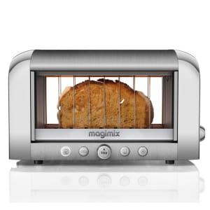 avec son grille-pain transparent, magimix a augmenté sa visibilité