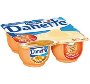 la danette crème brûlée fait partie des saveurs 'tendance' qui ne sont pas