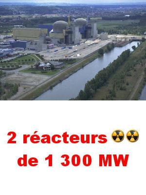 la centrale assure annuellement 12% de la consommation en électricité de la