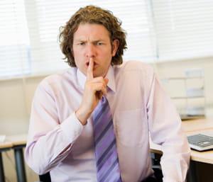 parfois mieux vaut garder le silence et éviter ainsi de populariser la rumeur.