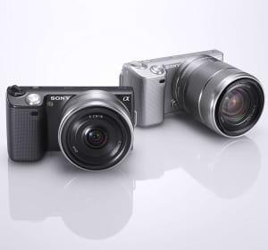 l'appareil photo hybride nex-5 de sony.