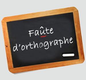 il est essentiel de se réapproprier les règles élémentaires d'orthographe.
