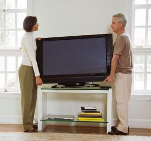 les français s'équipent massivement de télévisions lcd, dont la taille d'écran
