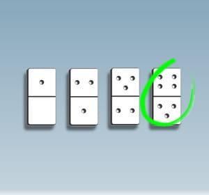 un test à base de dominos.