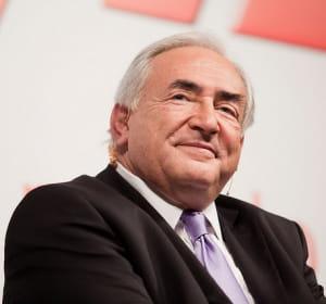 le directeur du fmi dominique strauss-kahn.