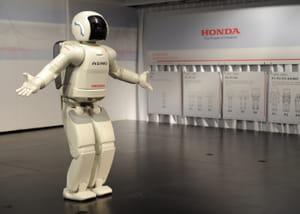 le robot asimo de honda préfigure les robots personnels.