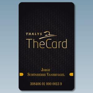 la carte the card de thalys.