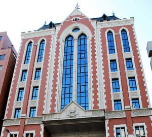 une vue de l'université keio.