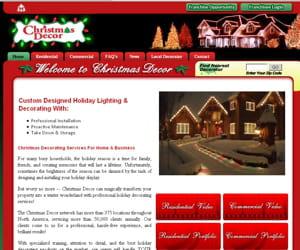 christmas decor s'adresse aussi aux entreprises.