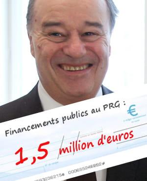 le parti radical de gauche de jean-michel baylet a reçu 1,5million d'euros de