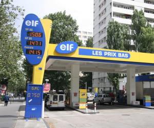 elf est le seul distributeur d'essence àessayer de concurrencer les