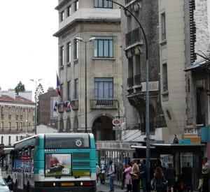 le centre-ville de montreuil.