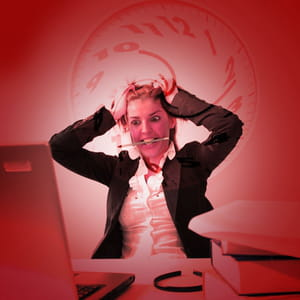 le stress peut se révéler nocif pour les entreprises.