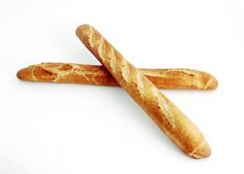 un euro = deux baguettes de pain