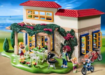 La maison de campagne playmobil - Maison jardin grande recre orleans ...