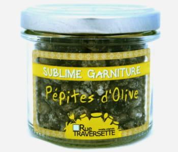 les pépites d'olives se parsèment dans une salade ou sur un fromage.