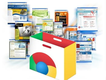 comme mozilla avec firefox, google avec chrome a opt pour un modle de