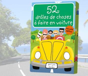 '52 drôles de choses à faire en voiture', 6,90euros.