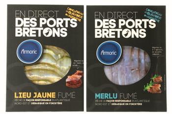 poisson fumé 'en direct des ports bretons'