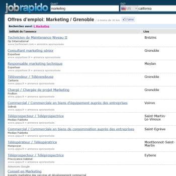 jobrapido, agrégateur d'offres d'emplois