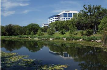 le siège de national instruments, à austin, dans le texas.