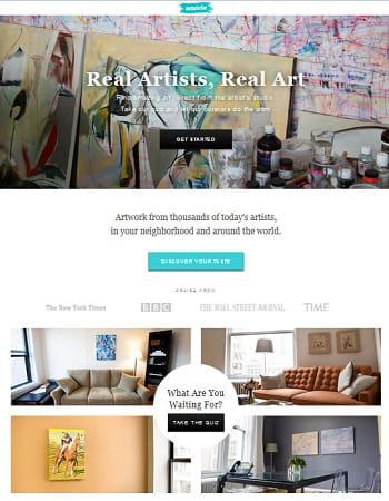 Artsicle loue des oeuvres d 39 art au mois huit bonnes for Idee de start up