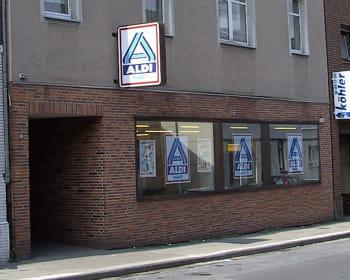 le premier magasin aldi a vu le jour à essen.