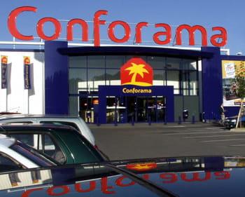 conforama est l'une des enseignes du groupe.