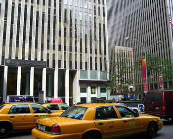 le siège de news corp., à new york.